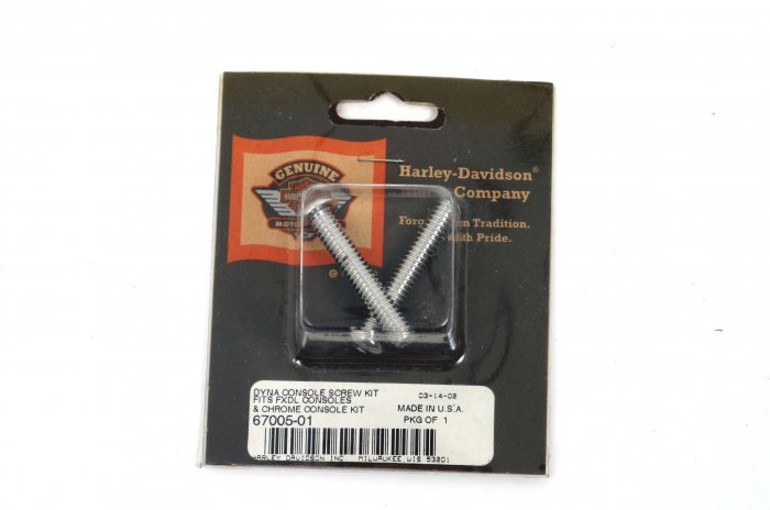 HARLEY DYNA CONSOLE SCREW KIT FXDL CHROME