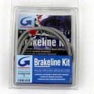 "GOODRIDGE STAINLESS BRAIDED FRONT BRAKE LINE +6"" XL/DEL"