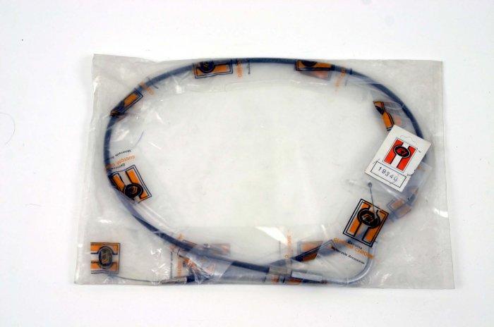 "THROTTLE CABLE 4 VINTAGE HARLEY XL W/KEIHIN +6"" NOS"