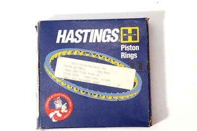 HASTINGS 78-EARLY 83 SHOVELHEAD 1340cc +.010 CAST RINGS