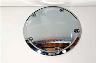 HARLEY CHROME DERBY COVER 99-08 EVO 1340/TWIN CAM