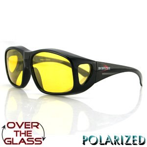 BOBSTER OVER THE GLASS SUNGLASSES YELLOW POLARIZED LENS