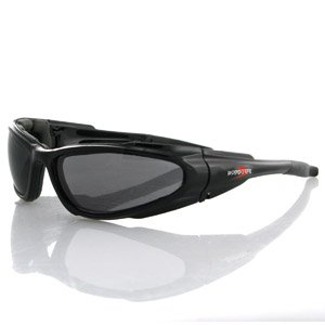 BOBSTER LOW RIDER SUNGLASSES BLACK SMOKED ANTI-FOG LENS