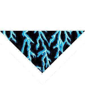 3 IN 1 COOLER/BANDANNA/HEAD BAND/NECK TIE BLUE LIGHTNIN