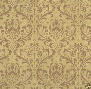Large Wall Painting Stencil Damask Anna Easy Wallpaper