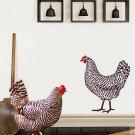 Dominique Chicken Stencil 2 Overlay, Easy DIY wall Decor with Stencils