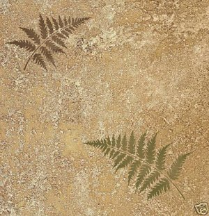 Wall stencils fern leaves 2pc SM, Reusable stencils for crafts, fabric