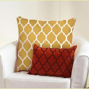Craft Stencil Casablanca MED, DIY Stencil for furniture, pillows
