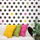 Wall stencil Polka Dot Allover LG, DIY decor for Nurseries, Kids Rooms