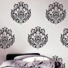 Wall Stencil Brocade No. 1 MED, DIY Reusable Stencil not wall decals
