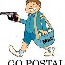 Postal t-shirts, go Postal