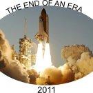 NASA t-shirts, end of an eraspace shuttle t-shirts