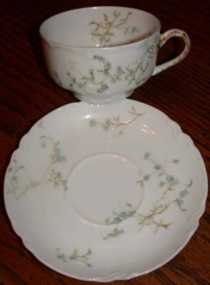 Haviland France Cup and Saucer Cherbourg