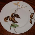 Haviland Decorative Plate Autumn Leaves