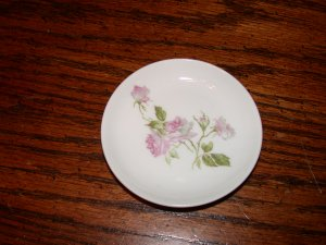 GDA Charles Field Haviland Butter Pat Pink Roses c.1900