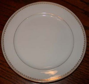 Charles Field Haviland Gold Trim Dessert Plate