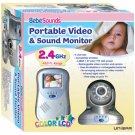Bebe Sounds Wireless Portable Video & Sound Baby Monitor BebeSounds Safety