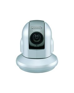 Panasonic network camera Pan/Tilt security, nanny/nursery, view office/home while traveling