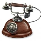 Crosley Capitol nostalgic corded Wooden Desk Phone telephone