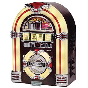"""Crosley Jukebox CD """"oldies but goodies"""" Reproduction of the classic 1947"""
