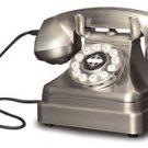 CR62 Classic Kettle 1930's Chrome corded nostalgic telephone
