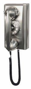 CROSLEY CR55 CHROME RETRO 302 1940's style WALL PHONE