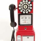 Crosley 1957 classic novelty payphone Pay phone telephone for home - coins not required