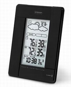 Oregon Scientific wireless weather station BAR388HGA Temperature/humidity display