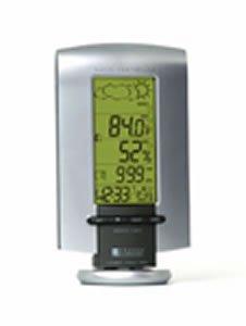 Oregon Scientific long range wireless weather station with Clock BAR898HGA
