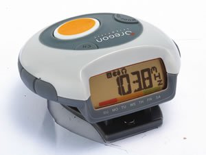 regon Scientific talking pedometer with FM radio PE829A