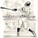 Ichiro Suzuki: B&W Preliminary  sketch