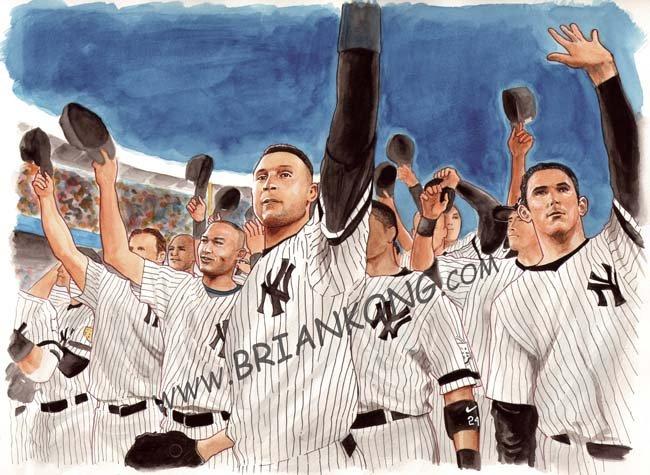 Yankee Stadium Farewell: Original Art
