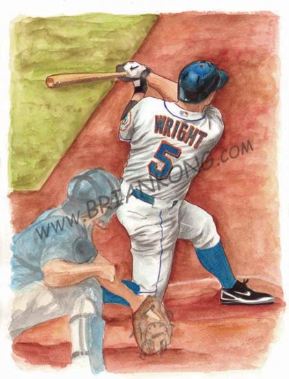 David Wright: Original Art