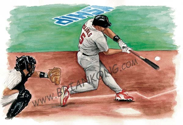 Albert Pujols :Original Art