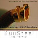 Guy earrings, yellow gold huggie hoop earrings for men, ECE150SY
