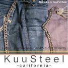 Chainmail Biker chain, Wallet Chain, trucker chain, lanyard Box weave chainmaille 619E