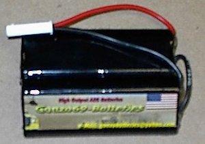 1800mah Nimh: Nunchuck/P90/AUG/M60 battery Airsoft