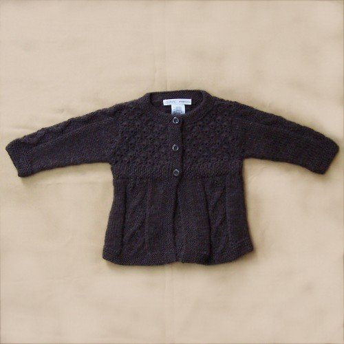 Lot of 10 Baby sweaters with 3 buttons.
