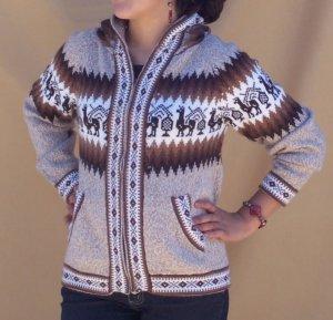 Lot of 10 alpaca hood sweaters adorned with lamas