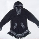 Lot of 10 alpaca hood sweaters adorned with fringes