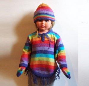 Lot of 15 sets for kids: sweater + hat + gloves