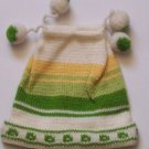 Lot 10 hat infant 3-6 months alpaca with pompoms