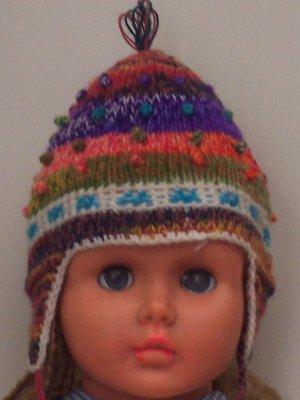 Lot 10 hat infant 3-6 months alpaca multicolor