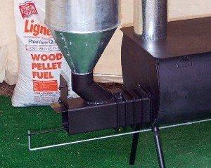 Pellet Burner Kit For Cylinder Stoves