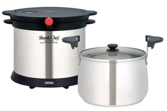 THERMOS KPX-5000 4.7L Shuttle Chef Thermal Cooker Vacuum Pot