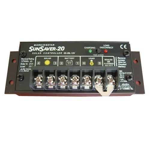 Morningstar SS-20L SunSaver 12V 20A LVD Solar Charge Controller