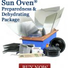 All American Sun Oven Preparedness Package Special Solar Cooker