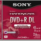 Sony DPR55DLL1H 2.6 Gb - 3-Pack Dual-Layer Mini DVD+R Discs with Jewel Cases