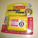 Lot of 45 PCF01 GE Sanyo Cordless Phone Rechargeable Battery