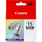 Canon BCI-15 Black Ink Cartridge (Twin Pack)